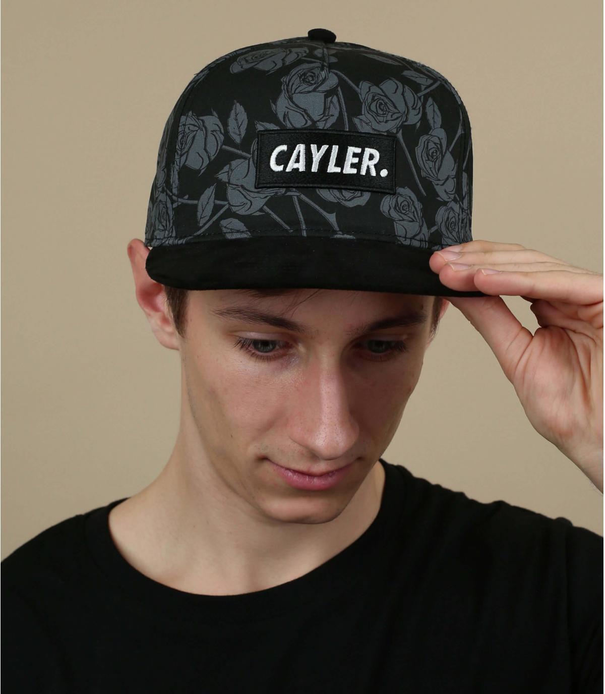 snapback rozen noir Cayler