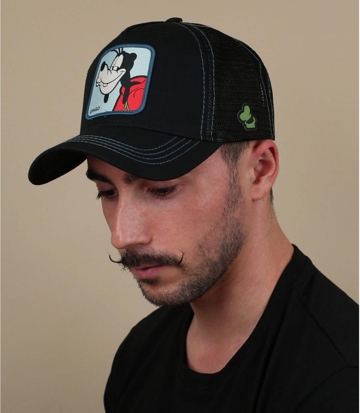 zwarte Dingo trucker cap