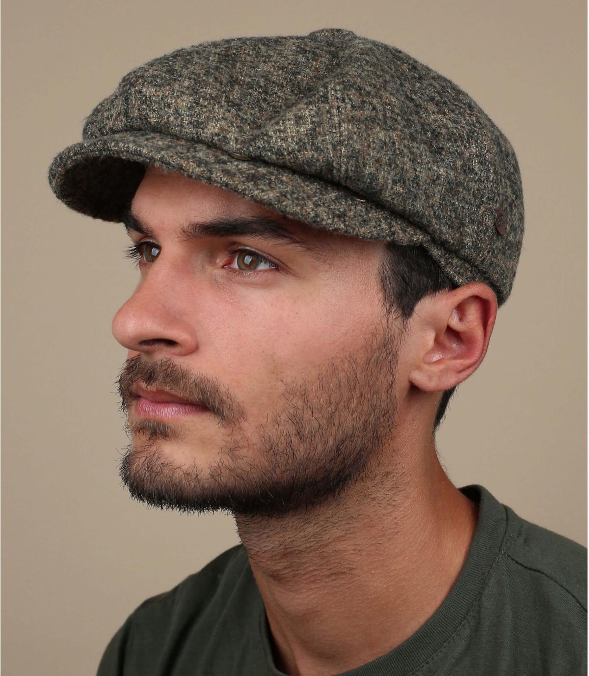 Beige wol beige baret