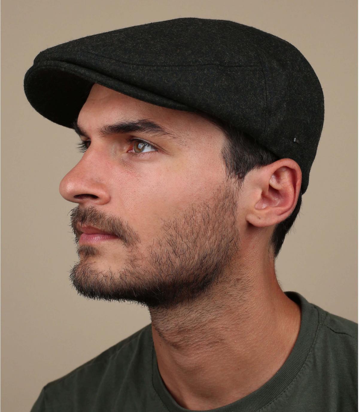 wol groene baret