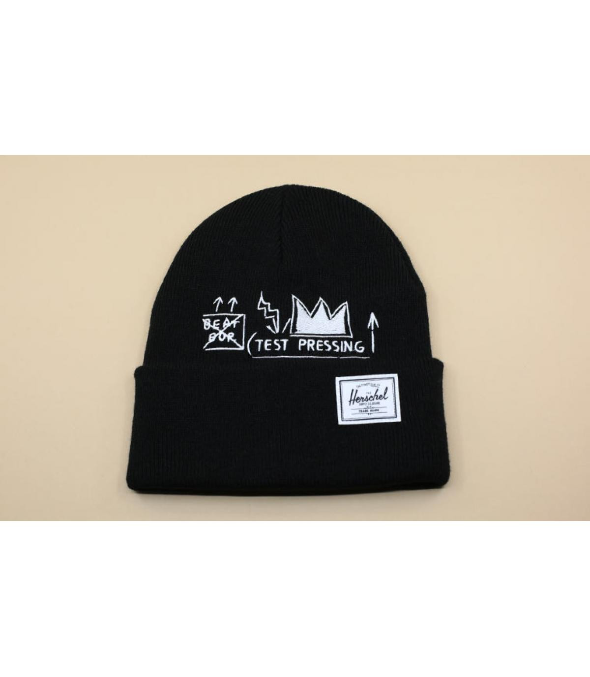 Basquiat hoed zwart Herschel