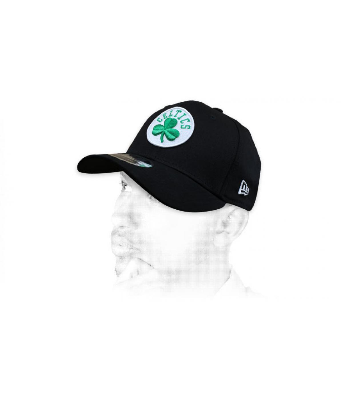 zwarte Celtics cap