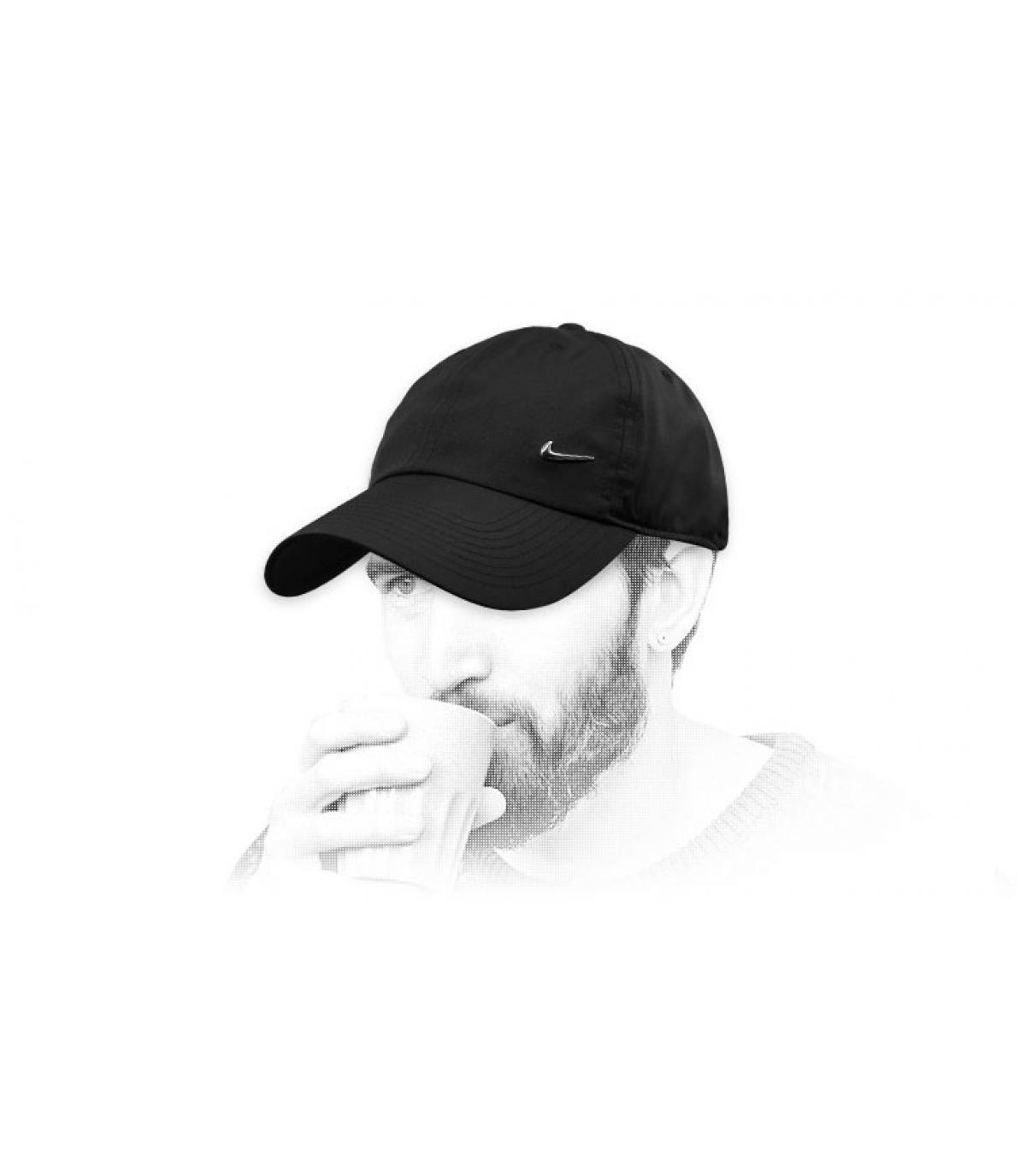 zwarte Nike cap