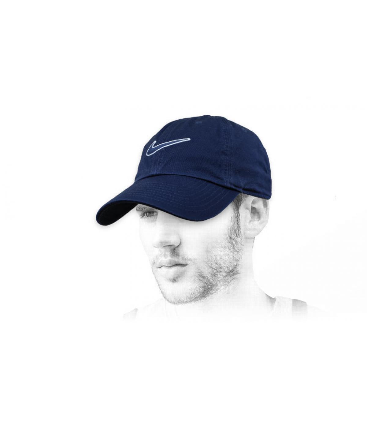 Nike zwarte swoosh cap