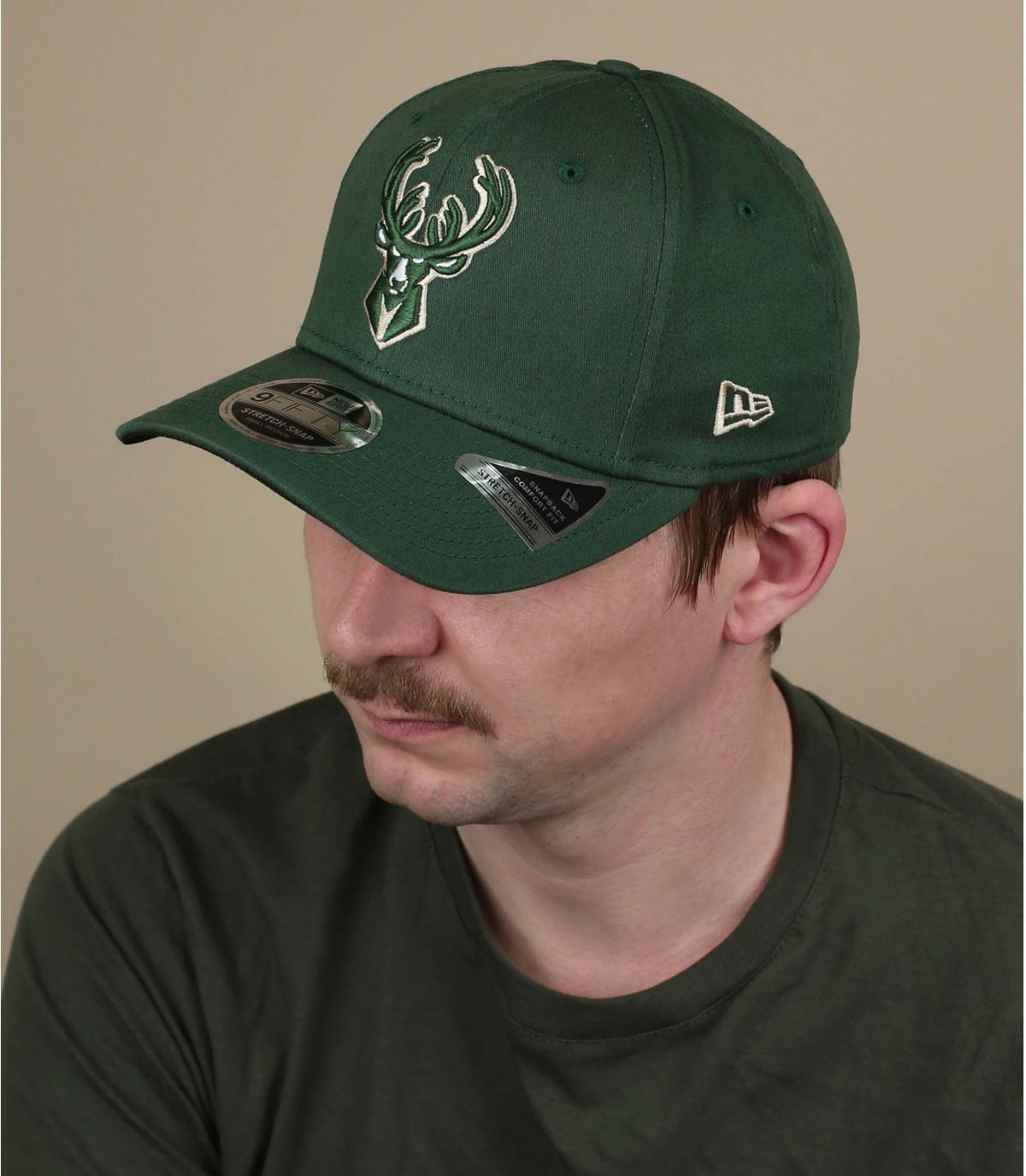 Milwaukee Bucks groene pet