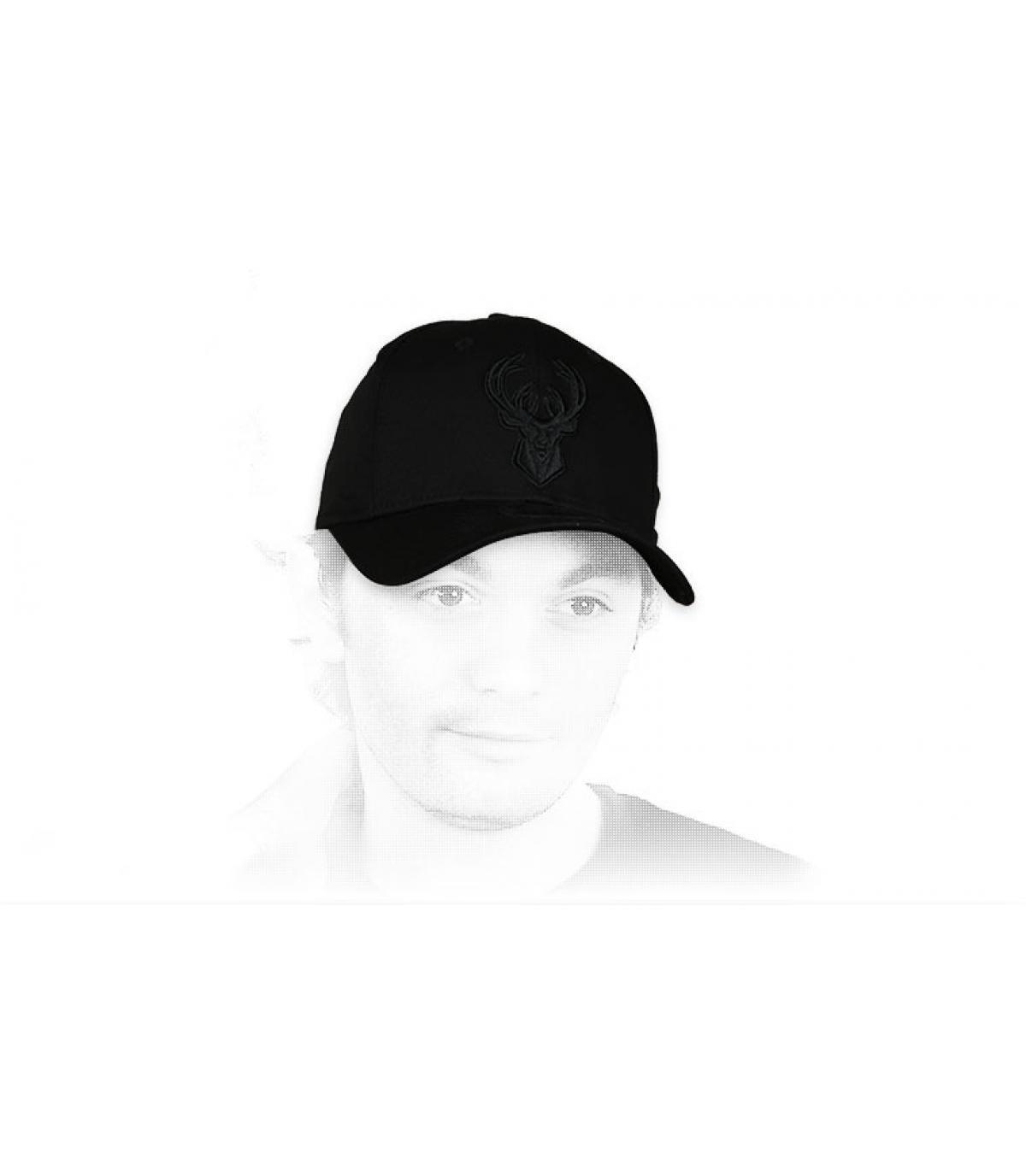 Zwarte Bokken cap