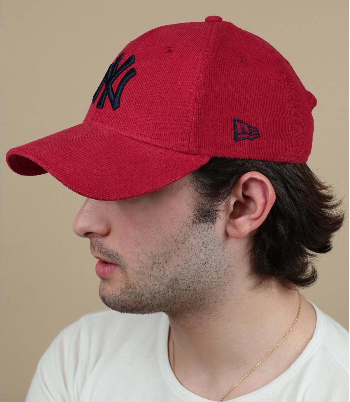 rood fluwelen NY pet