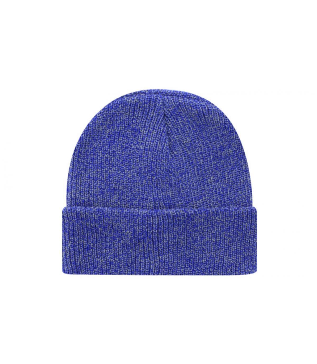 blauw beanie