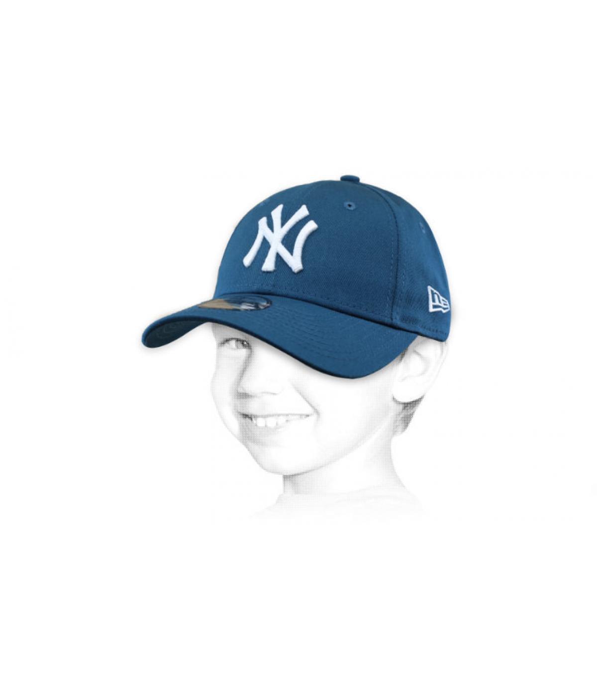 blauwe kindermuts NY