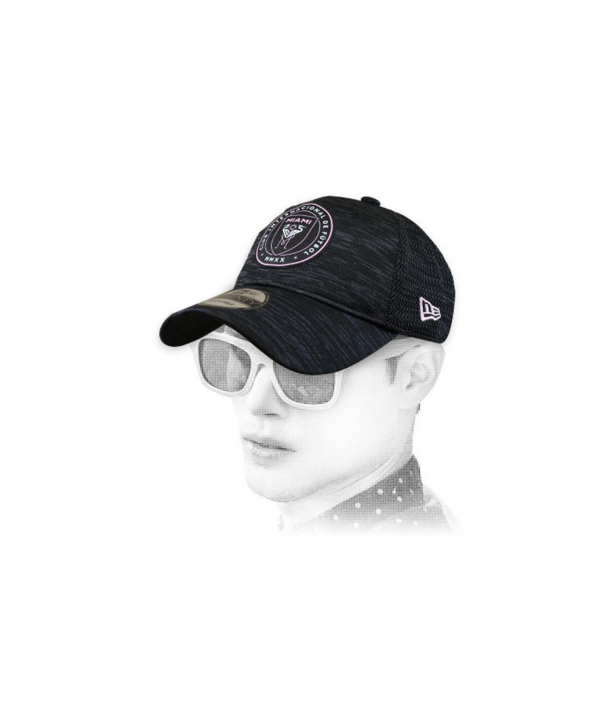 Inter Miami cap zwart