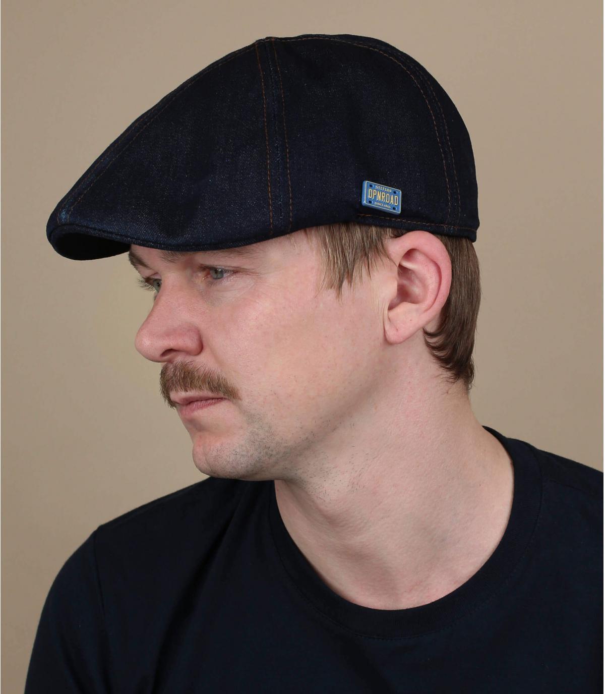 Stetson eendenbek denim baret