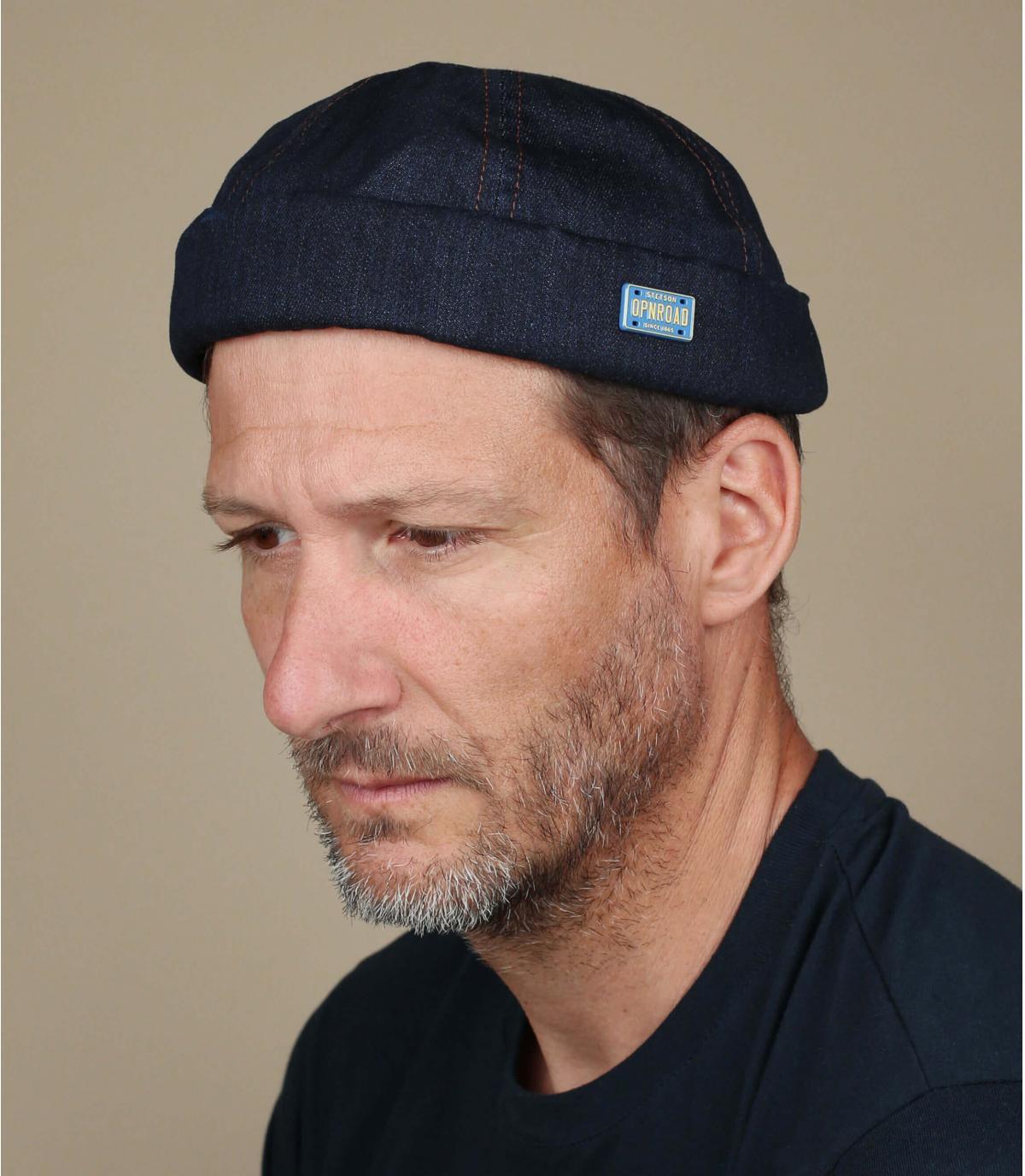 Denim hoed van Stetson