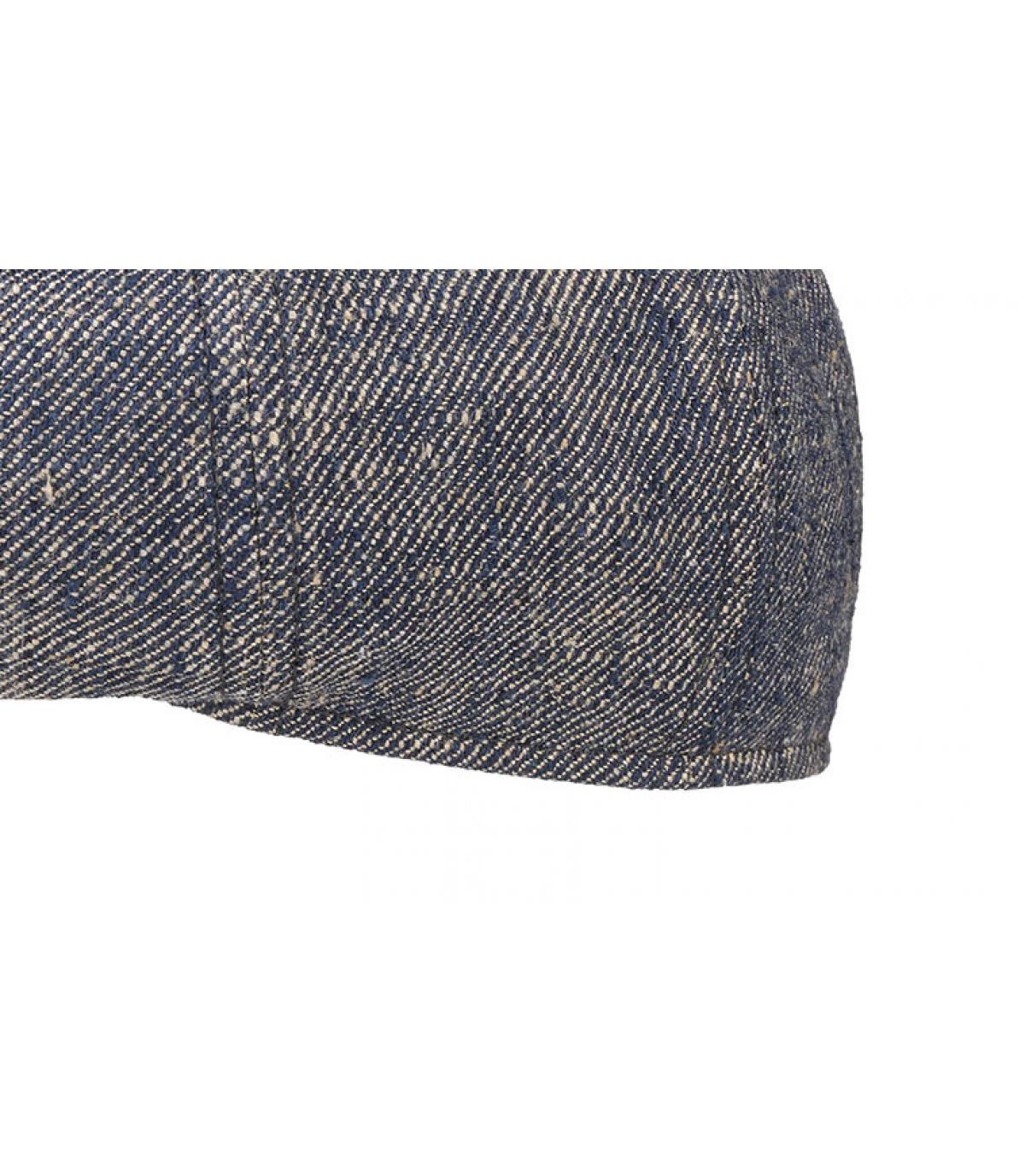Details 8 Panel Linen Silk blue - afbeeling 3