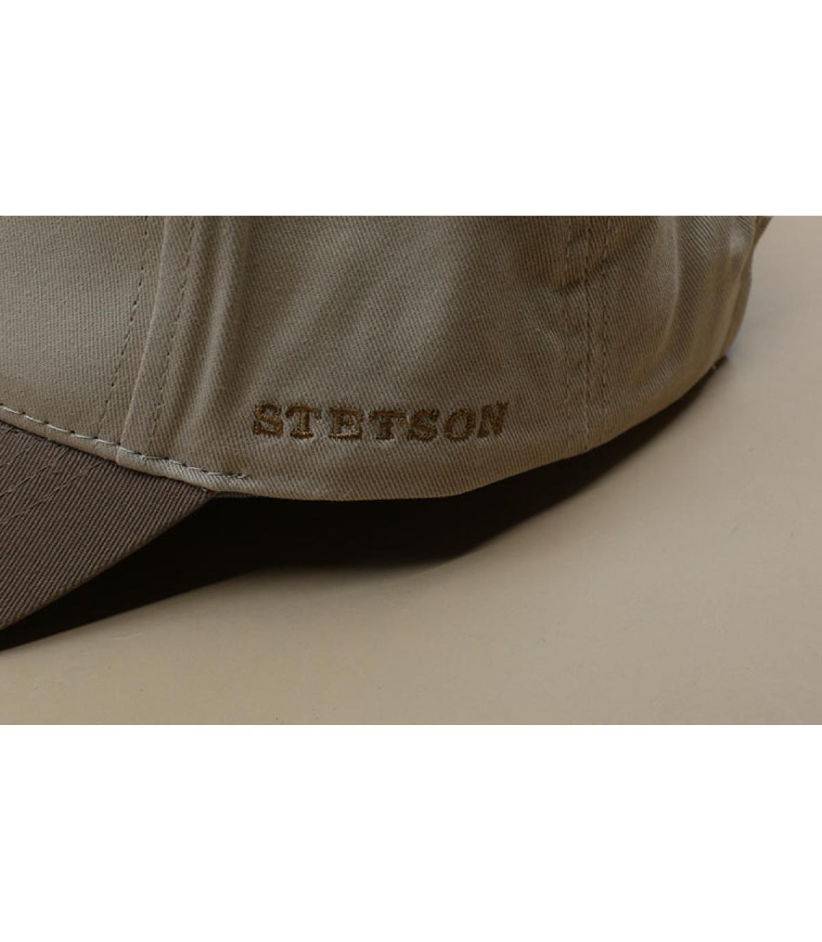 Details Baseball Cap Cotton brown beige - afbeeling 3