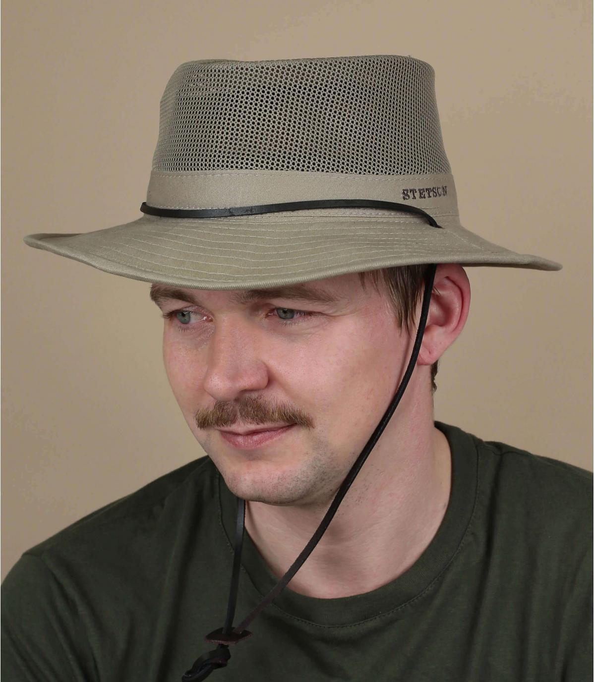 Geventileerde hoed van Stetson