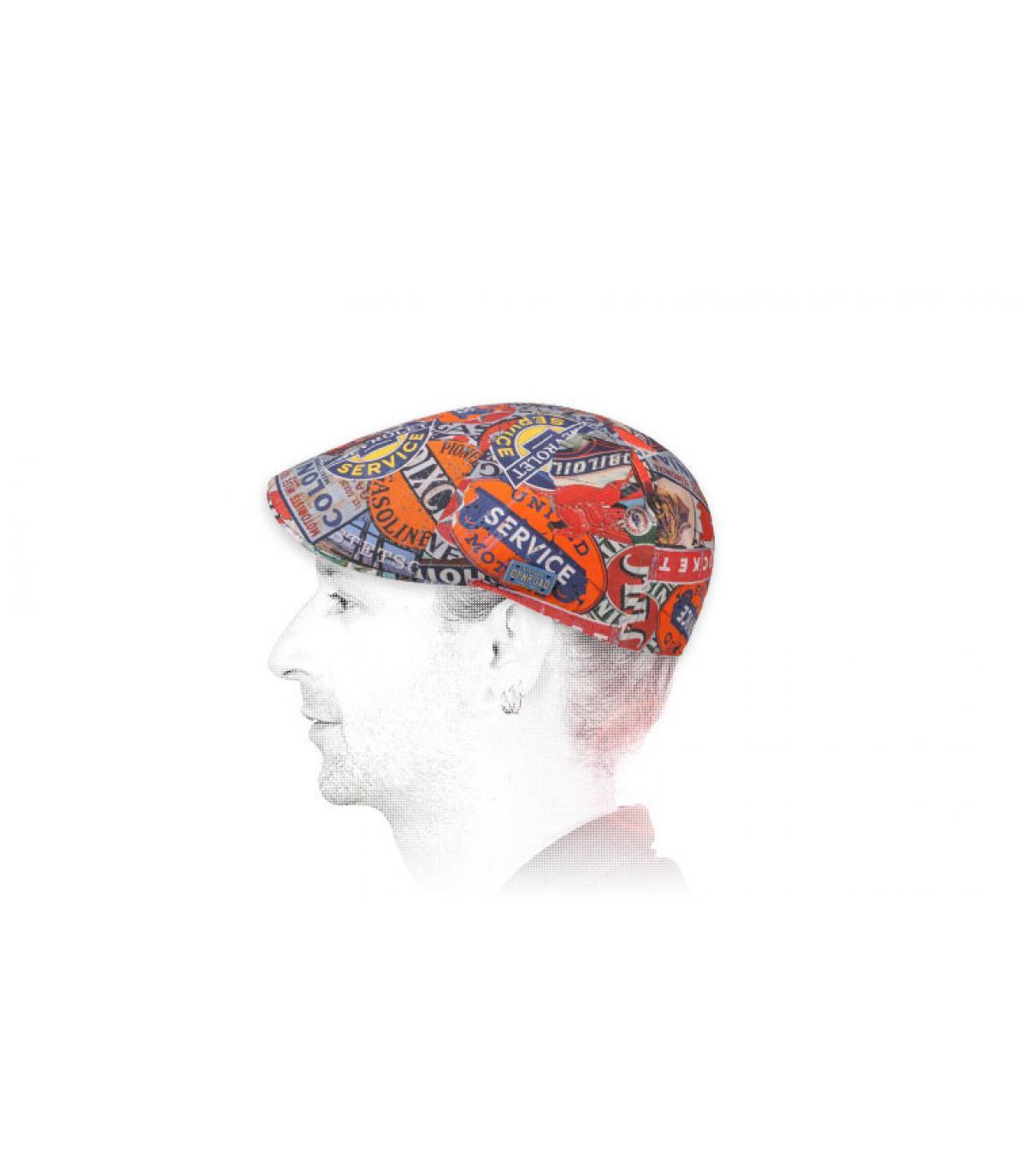 Stetson baret met eendenbek