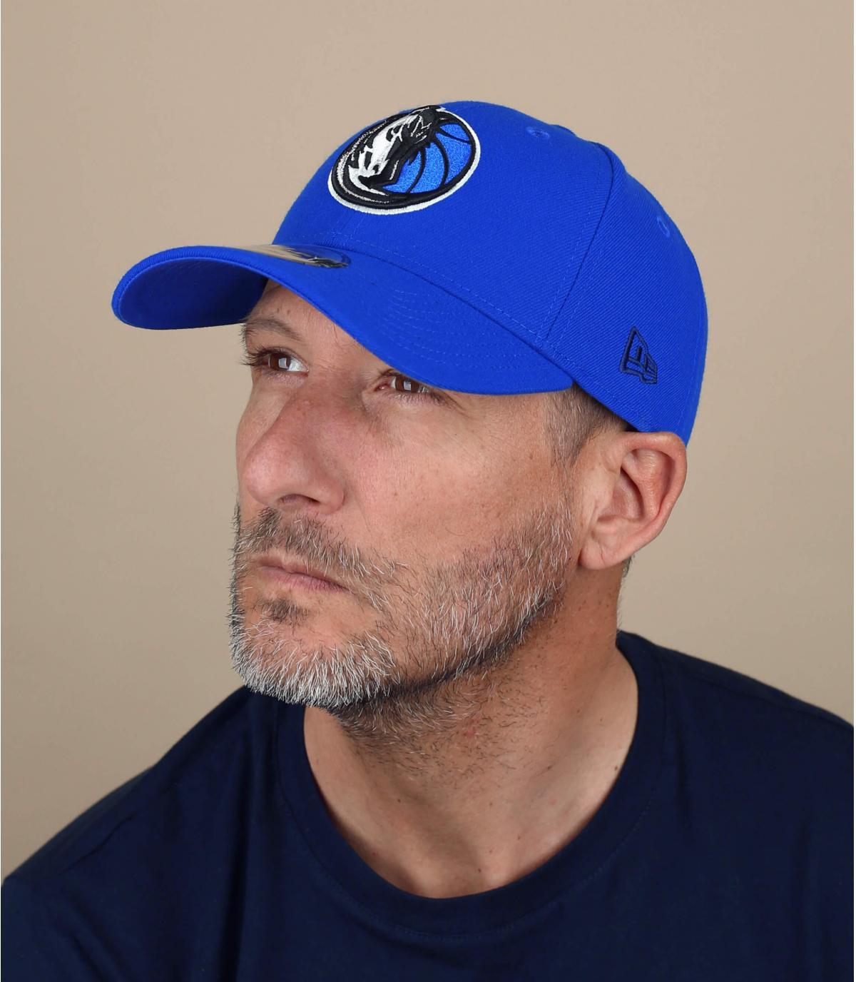 Yankees cap blauwe curve