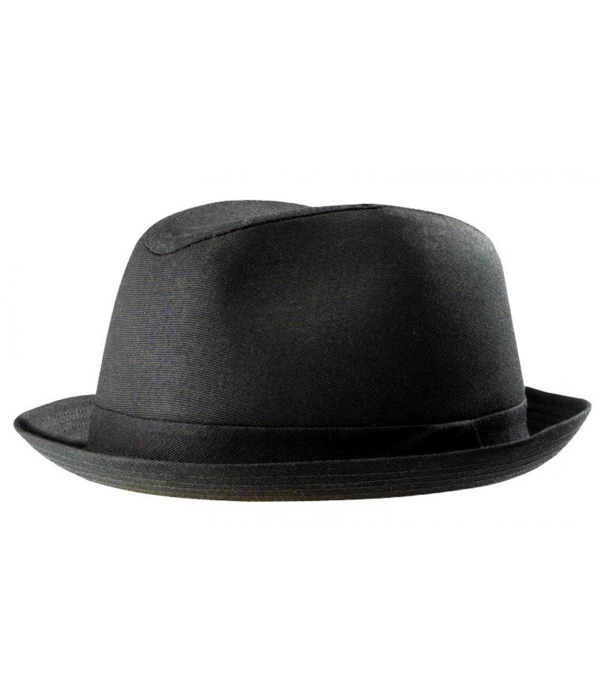 Zwart Stetson trilby