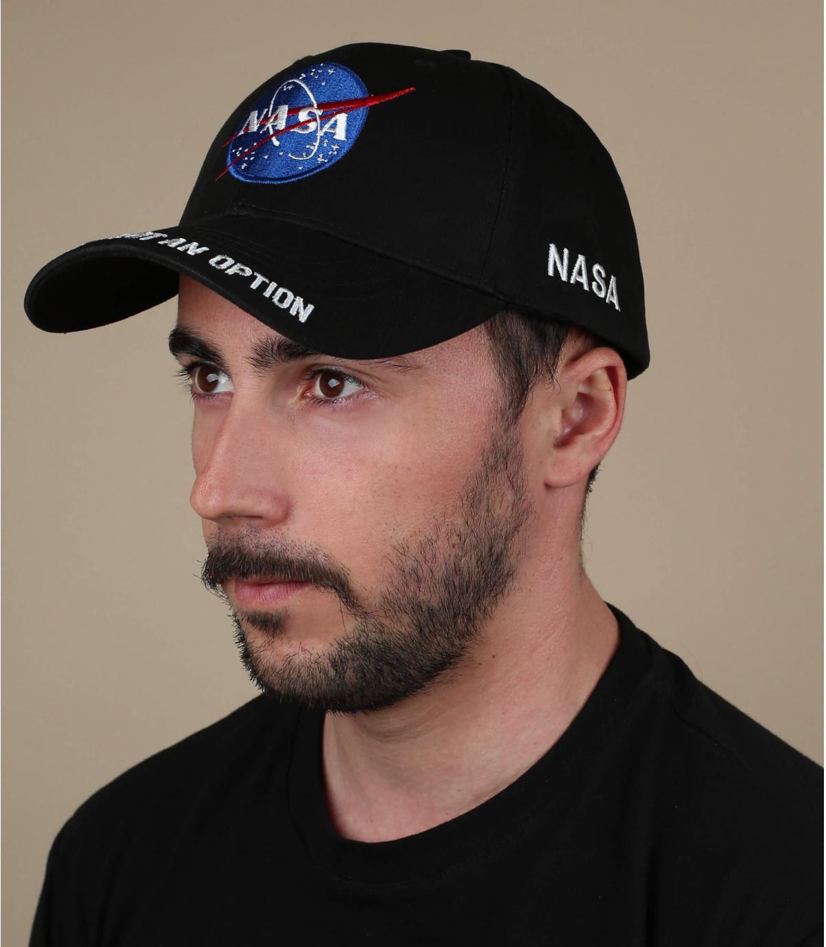 Zwarte NASA-dop