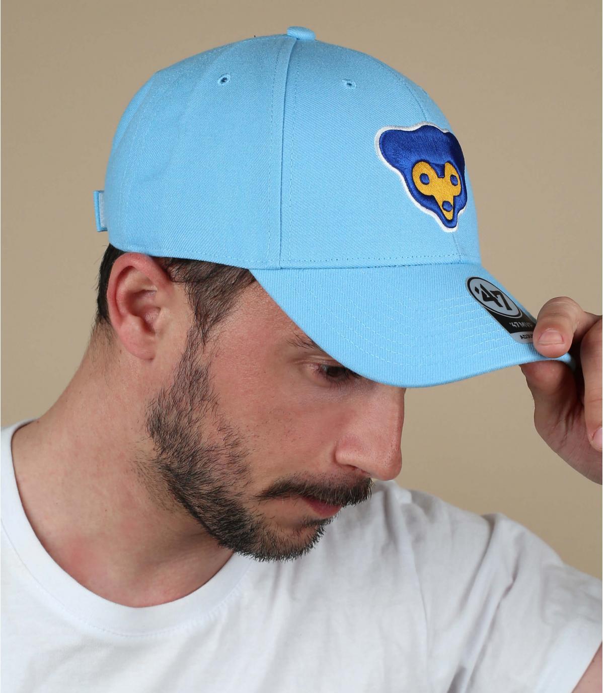 blauwe Cubs cap