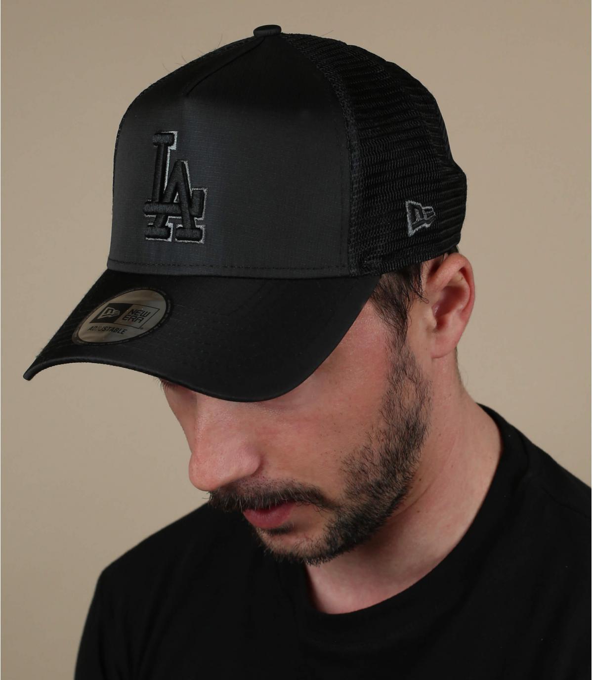 zwarte LA trucker