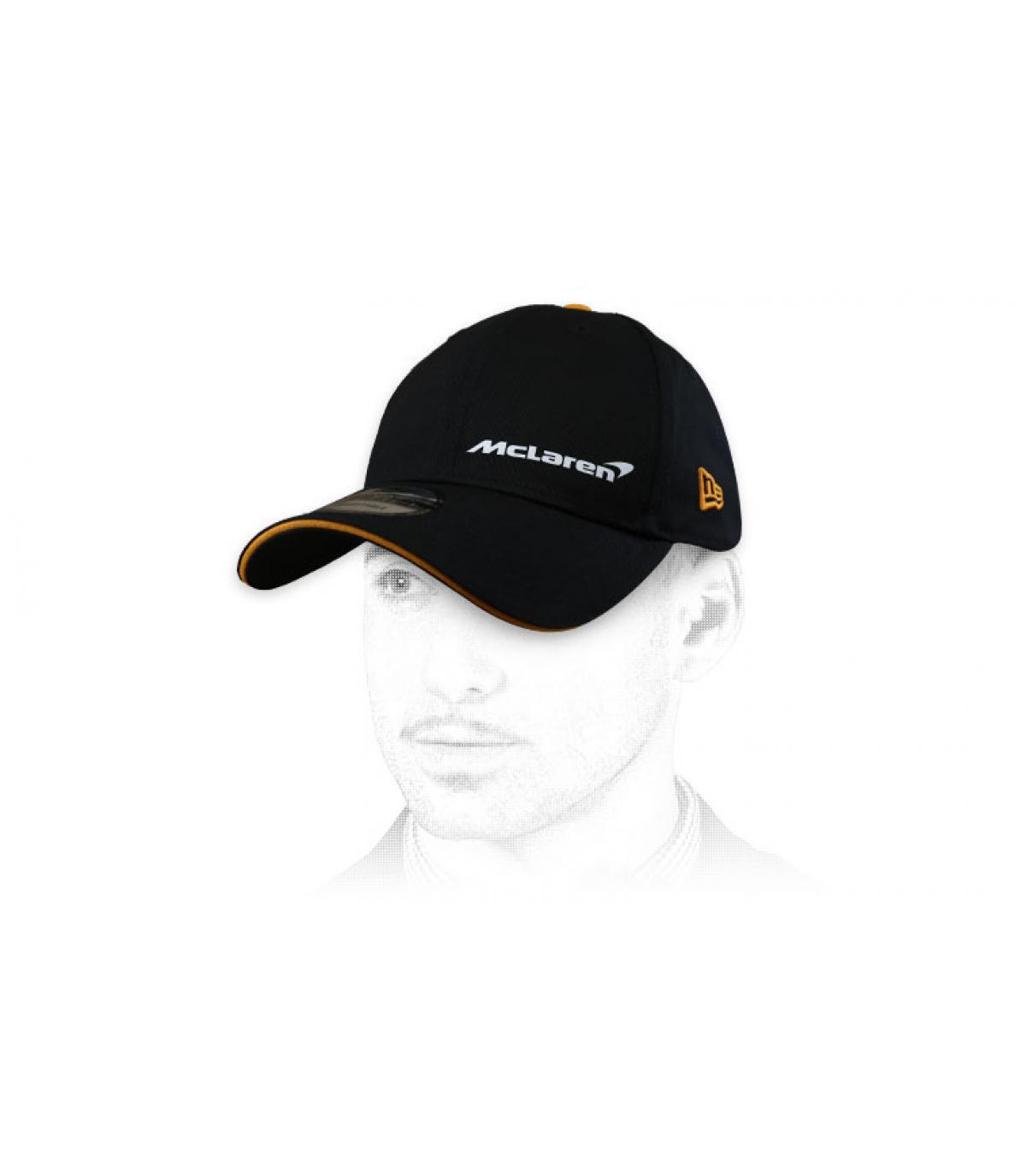 zwarte McLaren cap