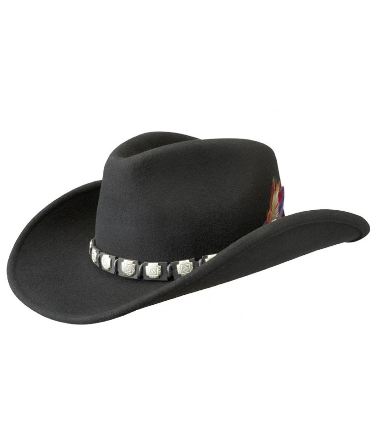 Cowboy hoed vilt wol