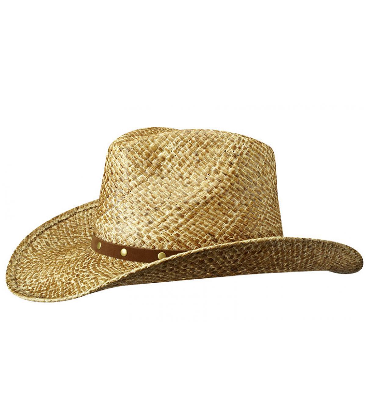 Cowboy hoed stro