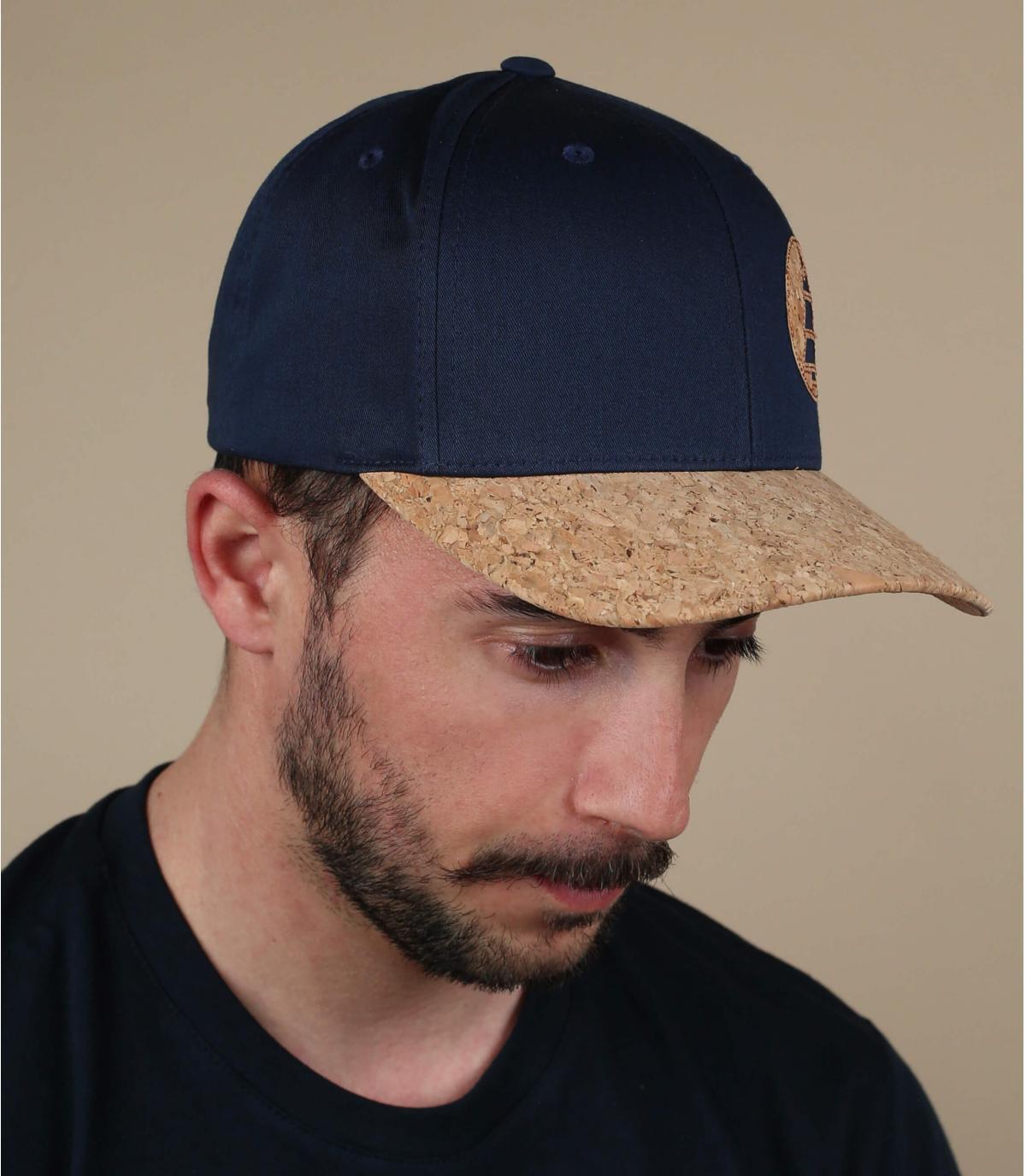Picture cap blauw