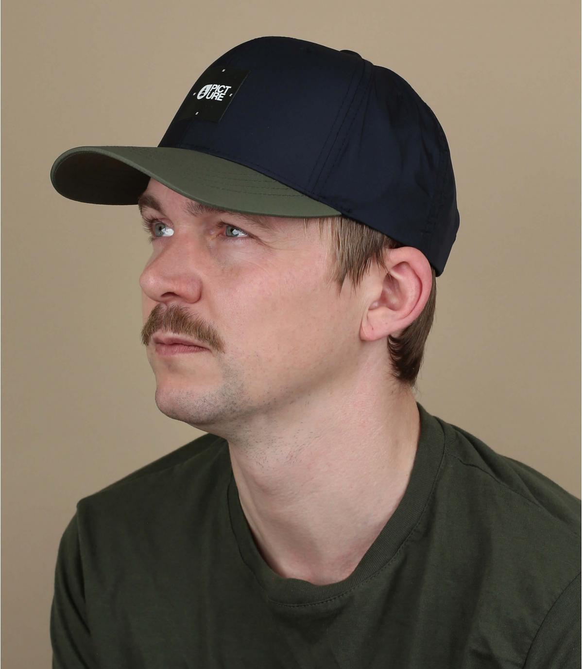 donkerblauwe Picture cap