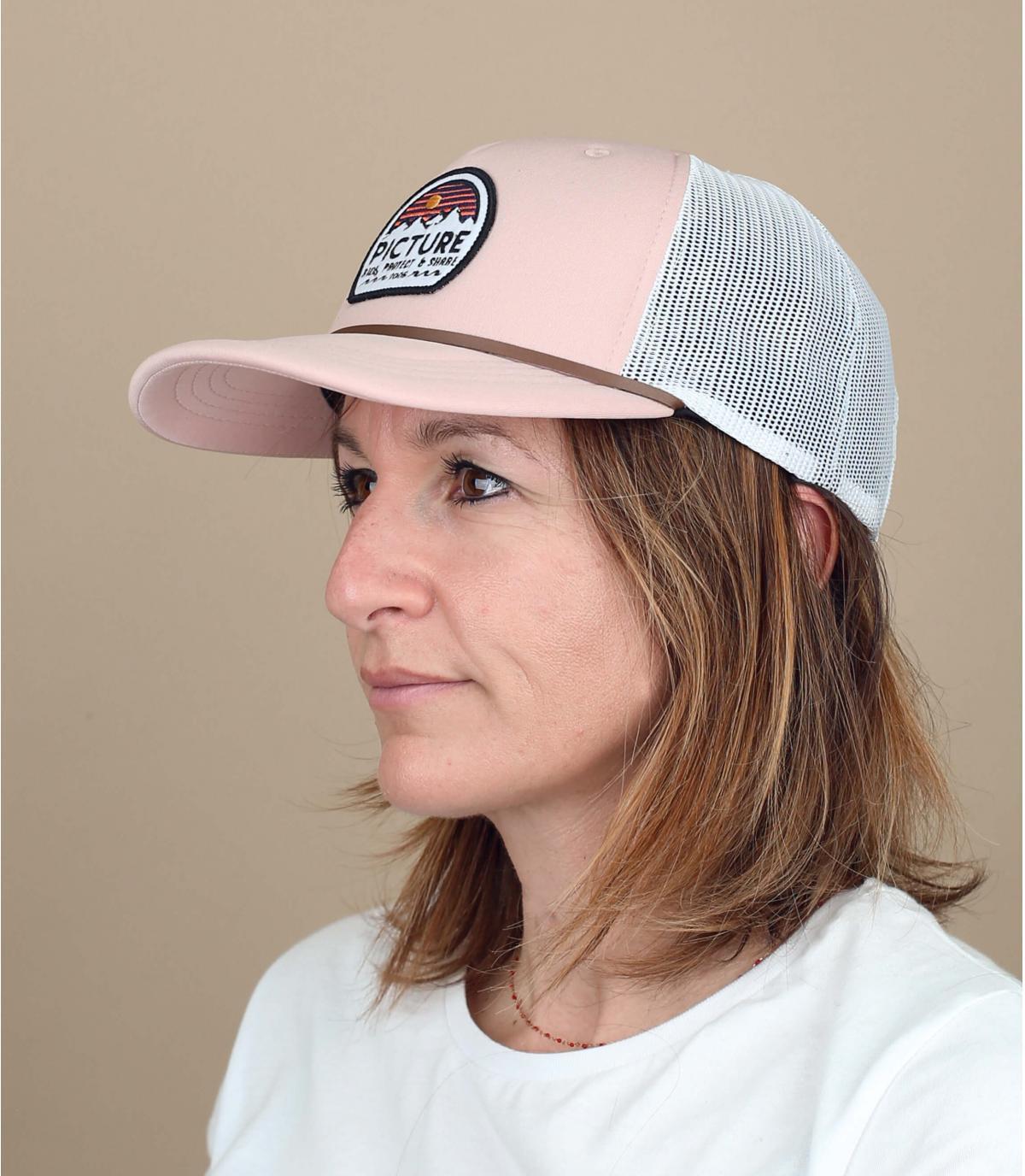 pink trucker Afbeelding