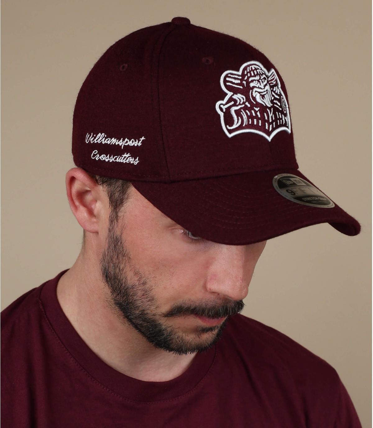 zwarte Crosscutters cap