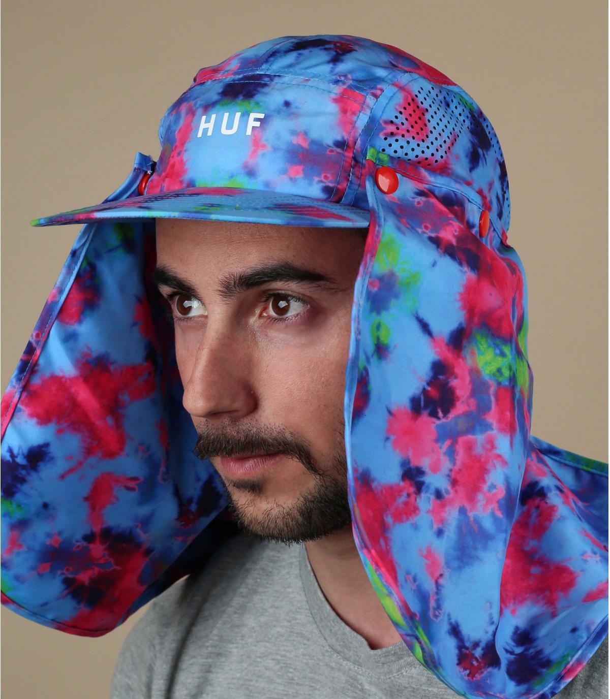 5 Huf blauw hoofdbandpaneel