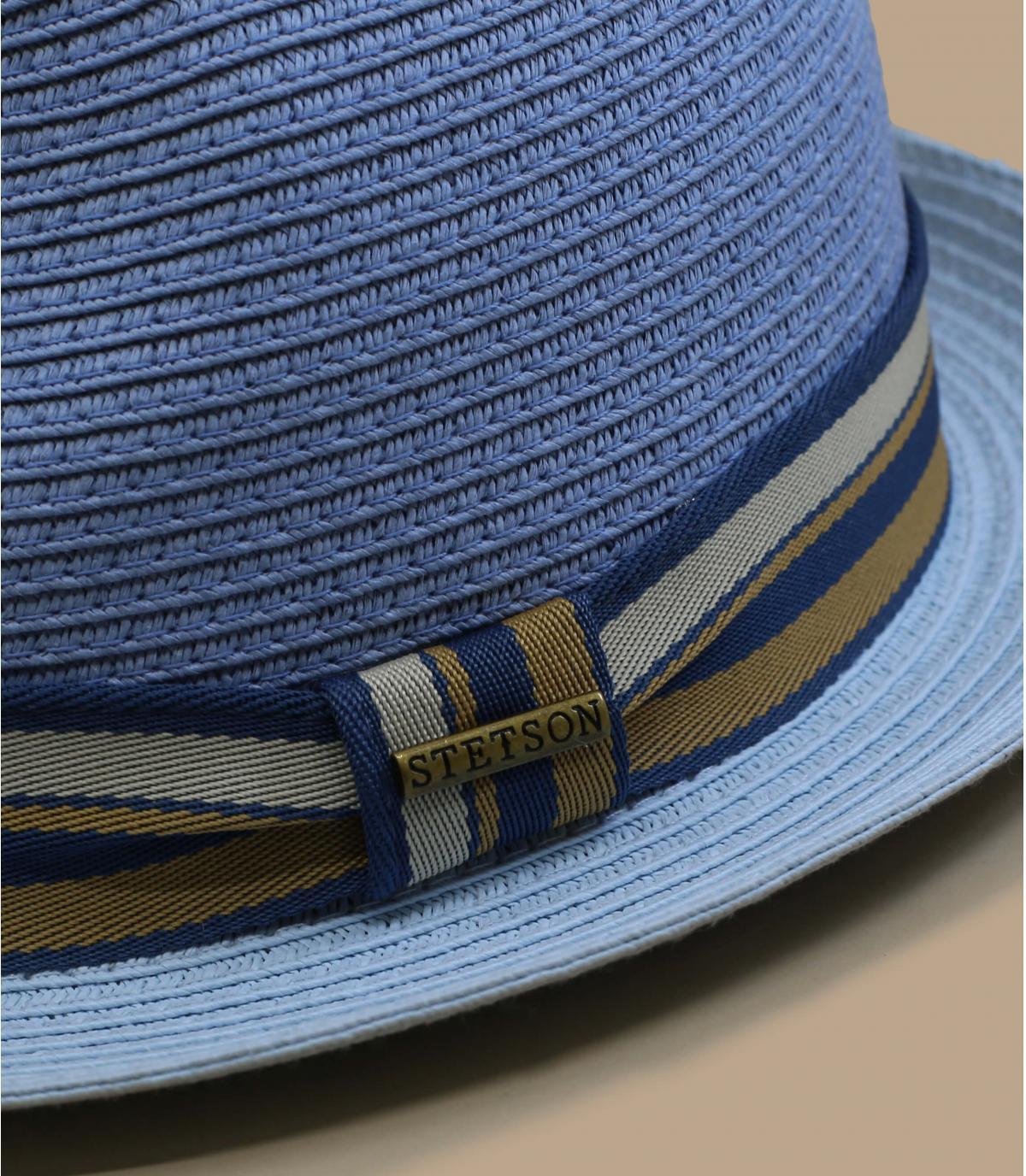 Details Trilby Toyo light blue - afbeeling 2