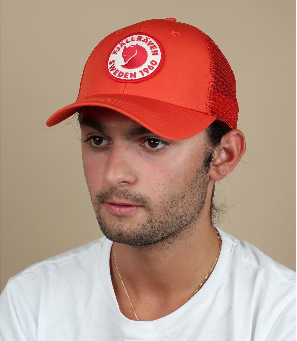 rode FjällRäven cap