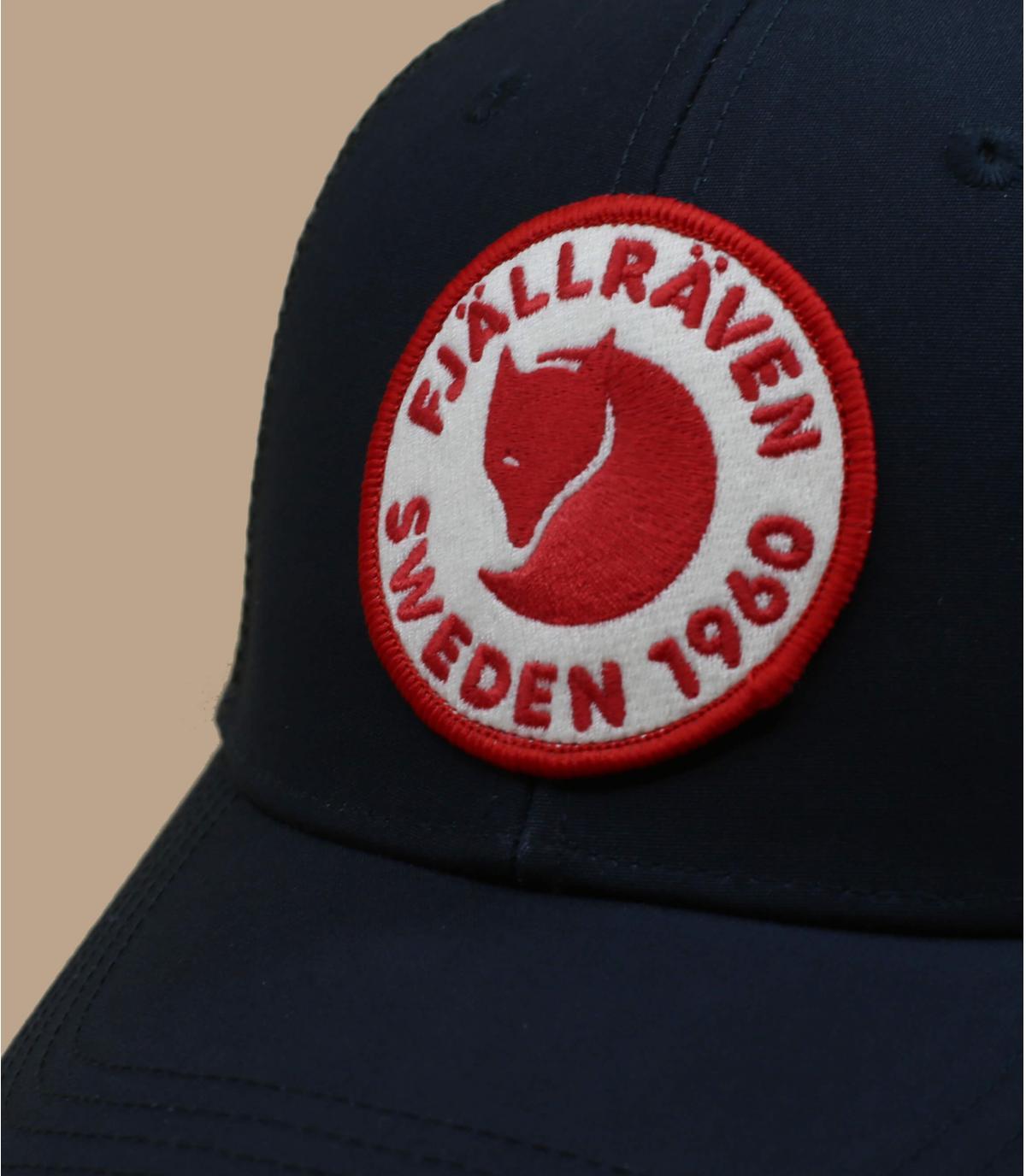 marineblauwe FjällRäven cap