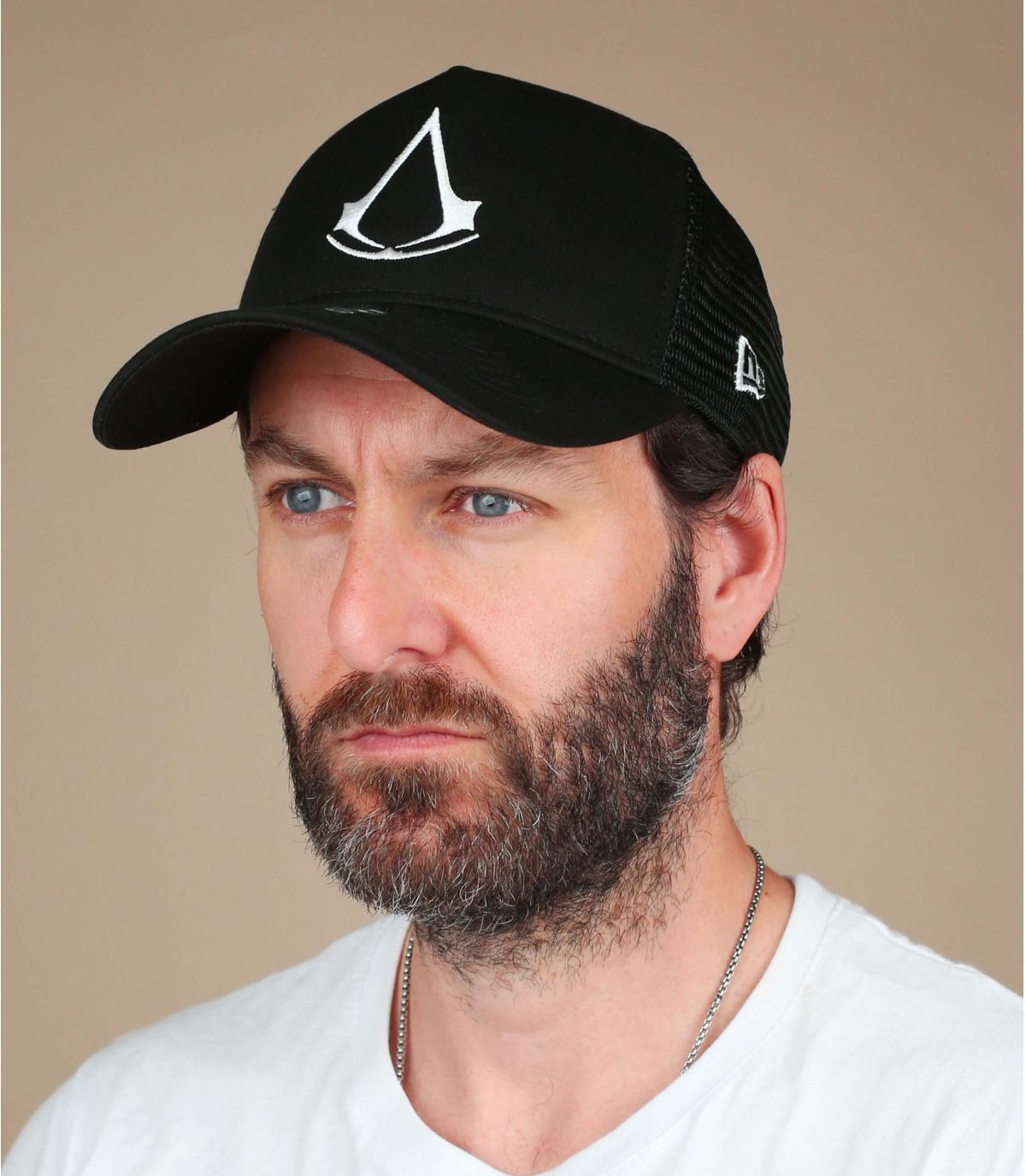 zwarte Assassin's Creed cap