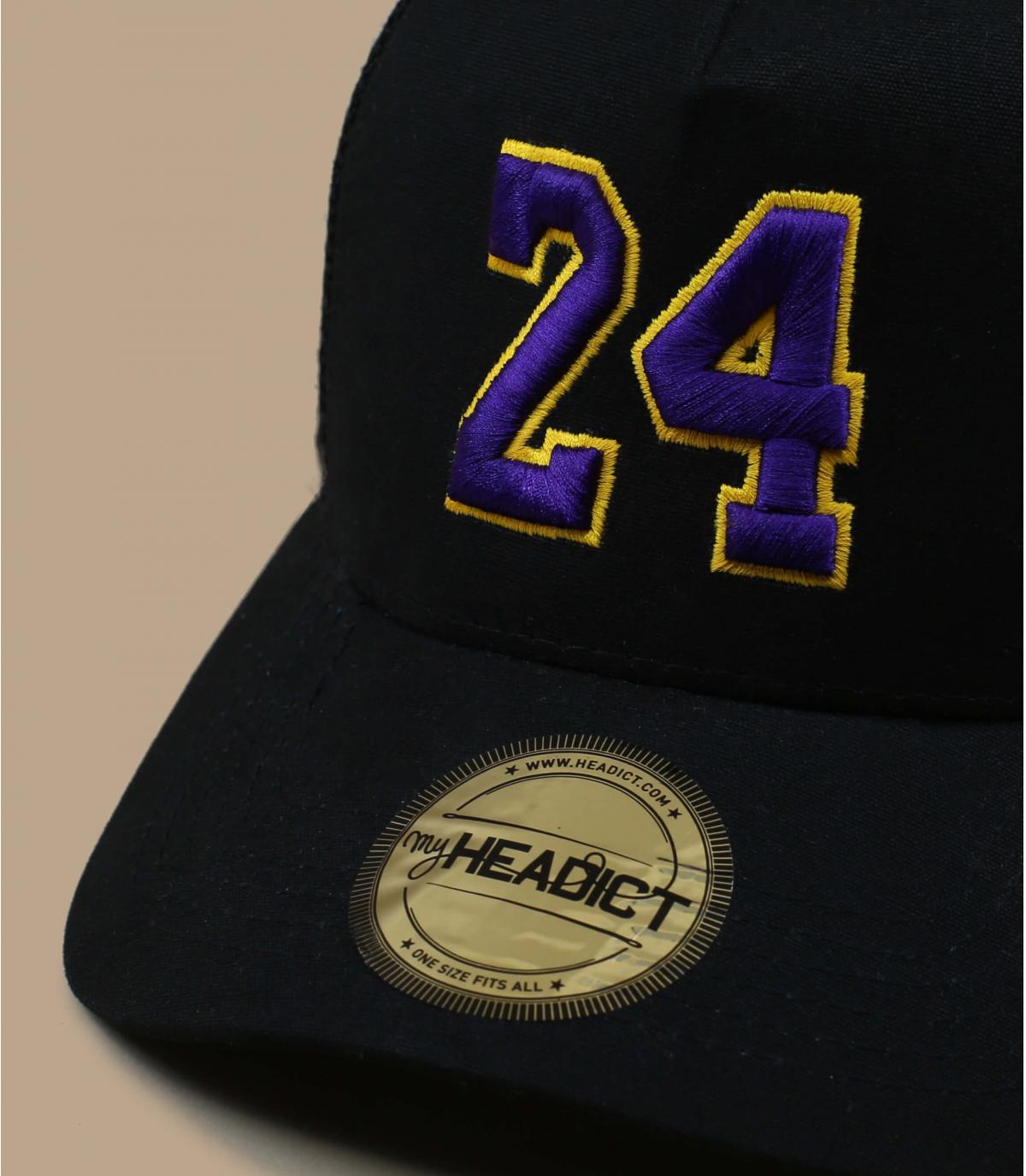 zwarte trucker 24