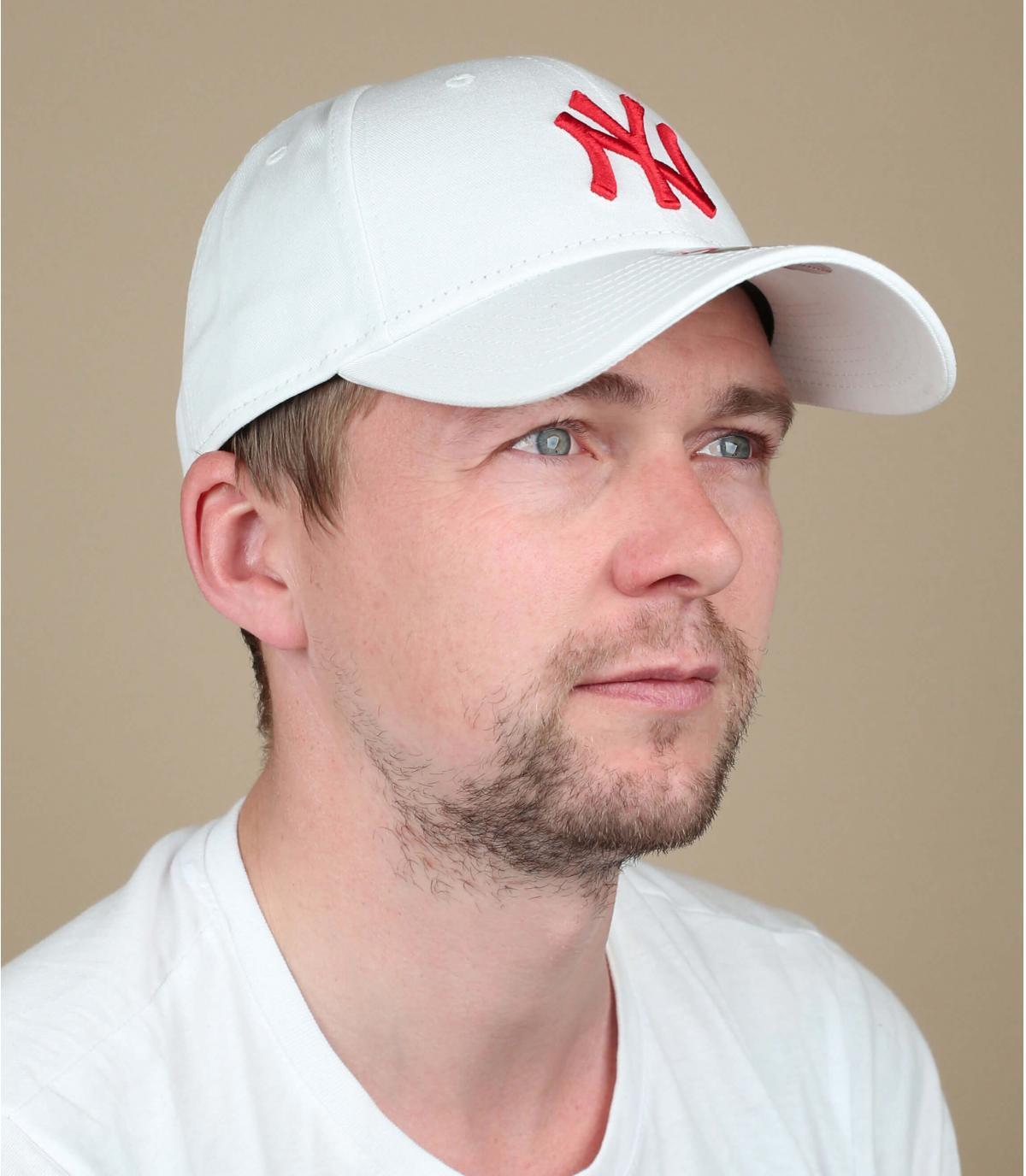 rood witte NY cap
