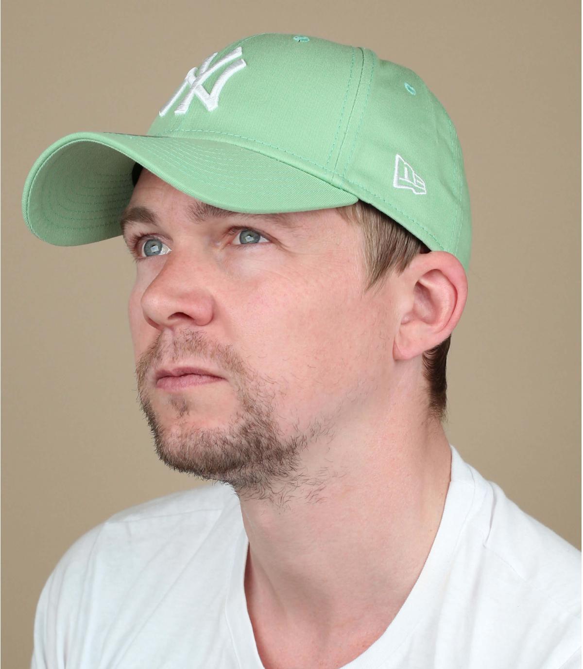 NY groen witte dop