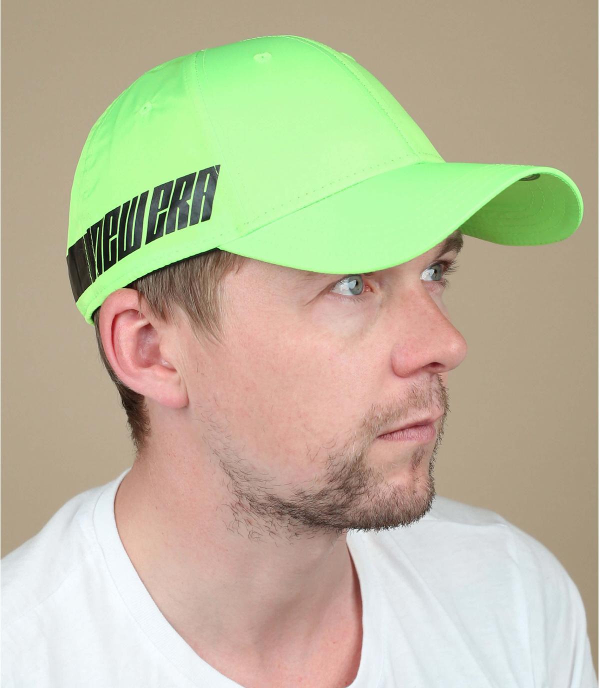 New Era neon groene pet