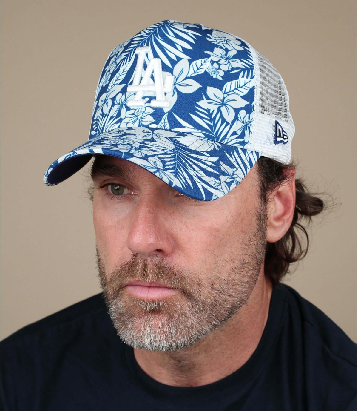blauwe jungle LA trucker