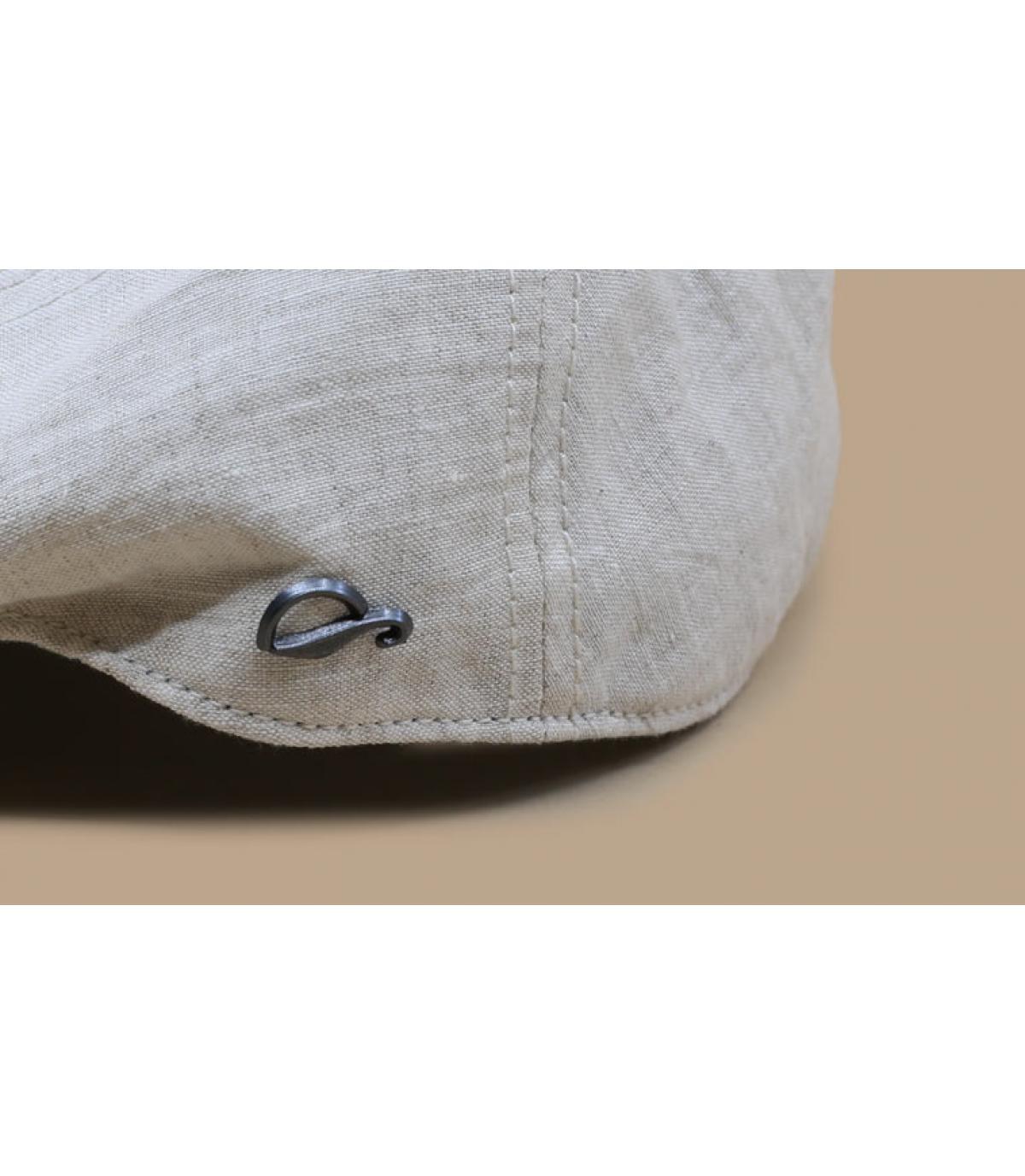 Details Oxford Linen beige - afbeeling 3