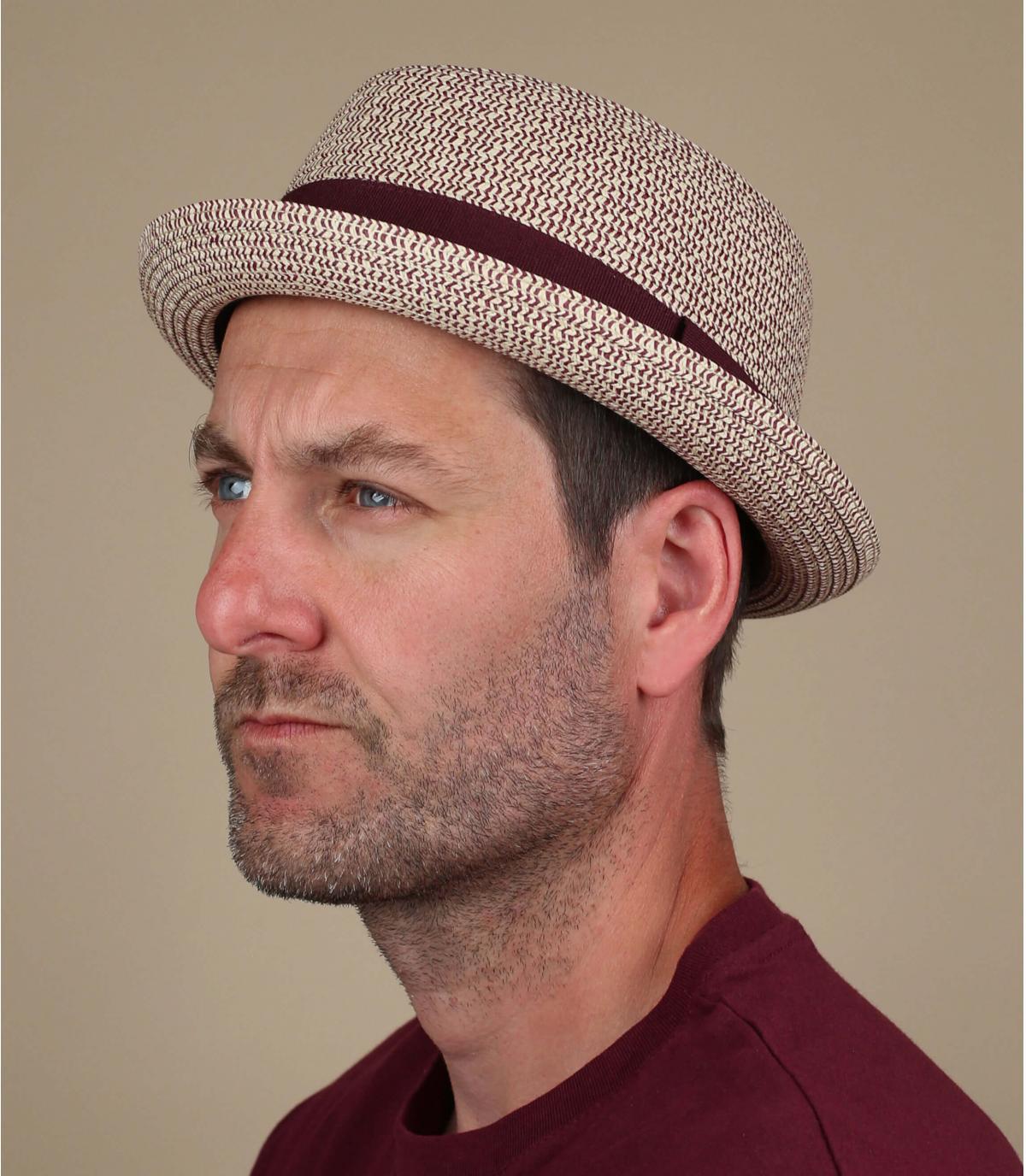 Bourgondische vlecht hoed