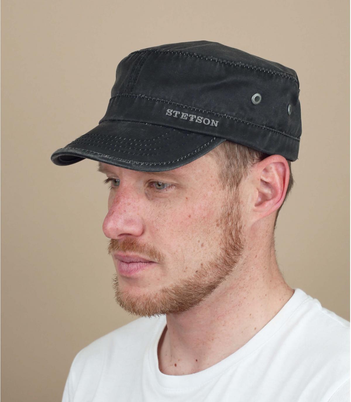 Cap Stetson zwart