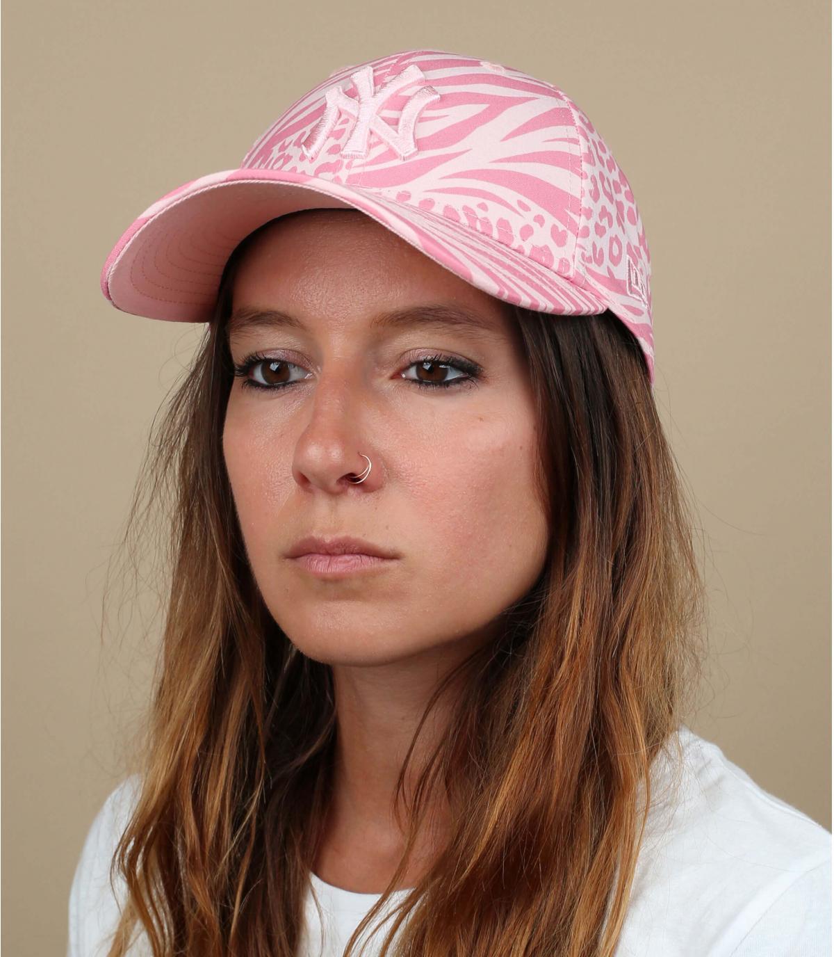 NY roze damespet