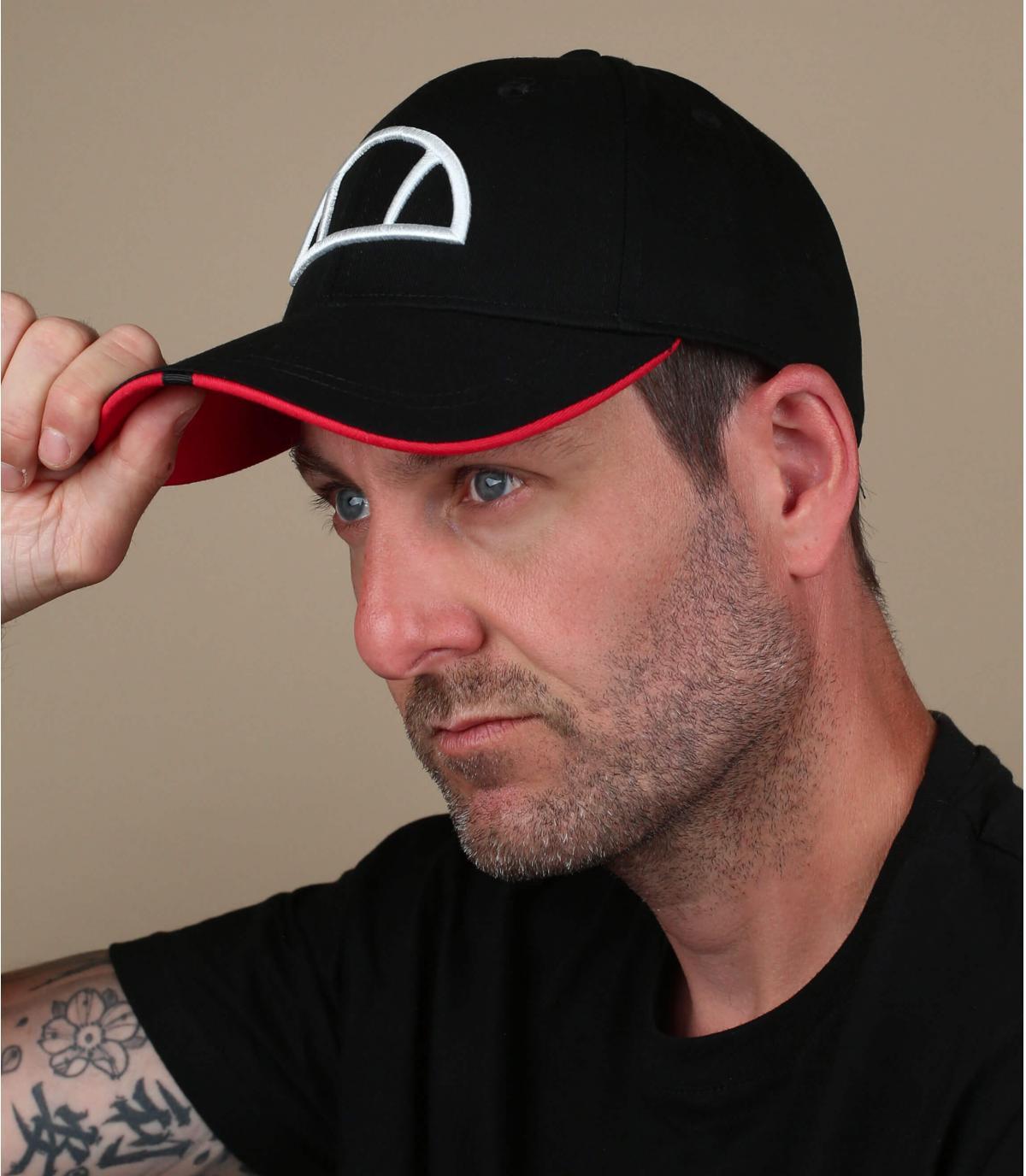 zwarte Ellesse cap