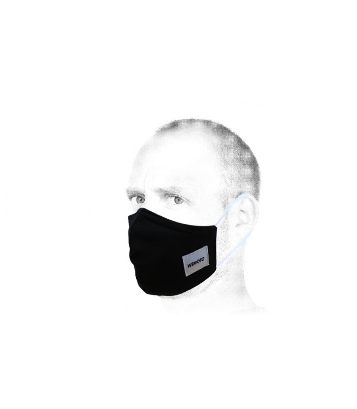 Wemoto zwart masker