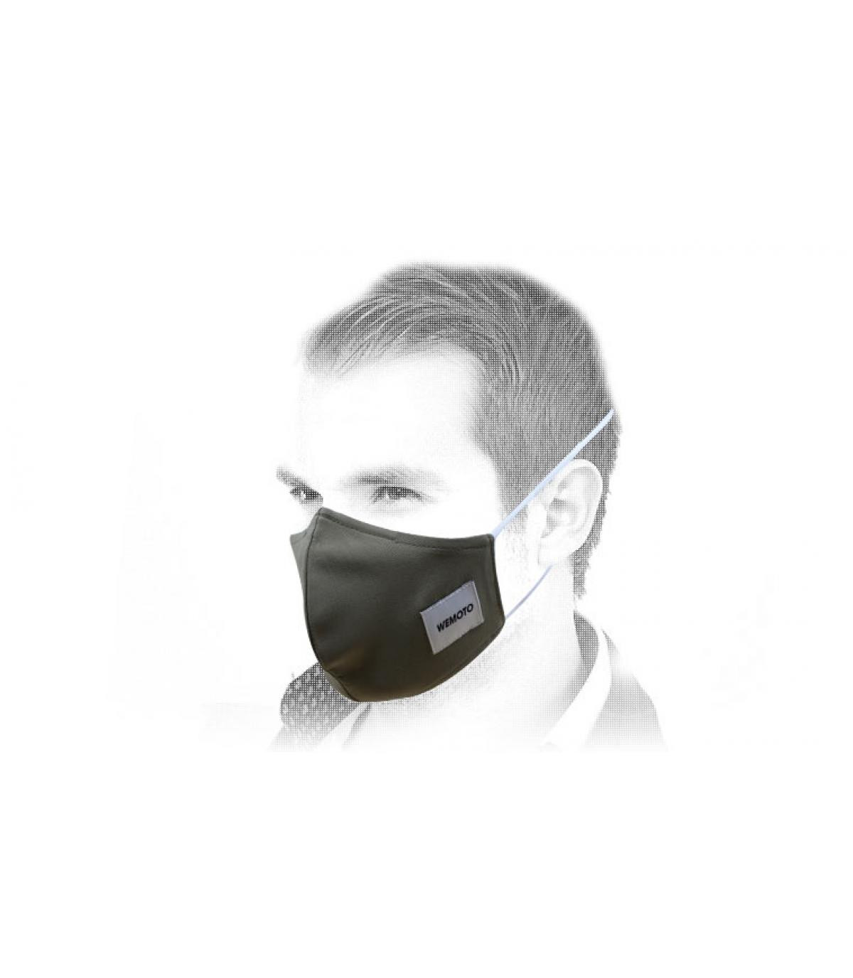 Wemoto groen masker