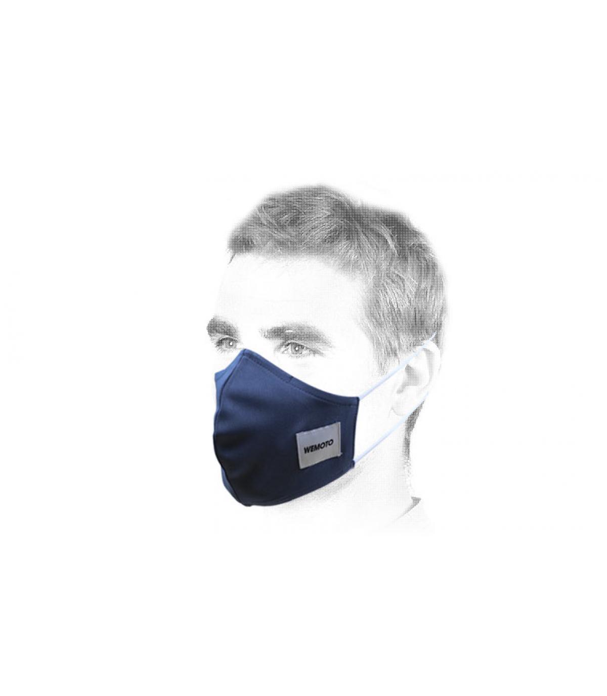 Wemoto blauw masker